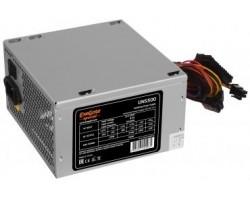 Блок питания ПК EXEGATE 500W UNS500 ATX, 120mm fan, 24+4pin/3*SATA/2*Molex/FDD/6+2 PCI-E OEM (105840) (ES261569RUS)