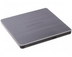 Привод LG внешний DVD+/-RW GP60NS60 Серебристый, USB2.0 RTL (88806) (GP60NS60)