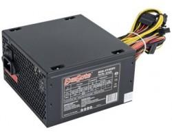 Блок питания ПК EXEGATE 600W 600NPX ATX, 120mm fan, 24+4pin/3*SATA/2*Molex/FDD/PCI-E, Black OEM (96994) (EX221643RUS)