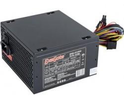 Блок питания ПК EXEGATE 400W XP400 ATX, 120mm fan, 24+4pin/3*SATA/2*Molex/FDD, Black OEM (86712) (EX219459RUS)