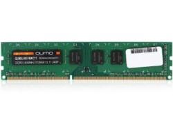 Модуль памяти DDR3 8Gb QUMO PC12800/1600MHz 1.5v, QUM3U-8G1600C11 RTL (107404) (QUM3U-8G1600C11)