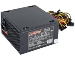 Блок питания ПК EXEGATE 450W XP450 ATX, 120mm fan, 24+4pin/3*SATA/2*Molex/FDD/PCI-E, Black OEM (83183) (EX219461RUS)