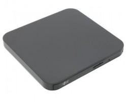 Привод LG внешний DVD+/-RW GP95NB70 Чёрный, USB2.0 RTL (111686) (GP95NB70)