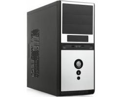 Корпус ПК SUPERPOWER Q3336 A11 500W Black/silver, 12cm, 24Pin, 2*SATA, USB/Audio, ATX (50332) (Q3336-A11-500)