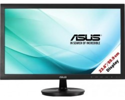 "Монитор ASUS 23.6"" VS247NR черный (TN+film 1920 x 1080, 300, 1000:1, 5ms, 170/160, DVI, VGA) (109691) (90LME2001T02211C-)"