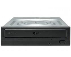 Привод LG внутренний DVD+/-RW GH24NSD1 Чёрный, SATA, OEM (106343) (GH24NSD1)