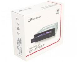 Привод LG внутренний DVD+/-RW GH24NSD3 Чёрный, SATA, RTL (112757) (GH24NSD3)